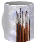 Paintbrushes Coffee Mug