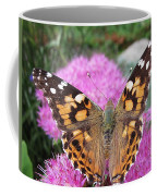 Painted Lady Butterfly Up Close Coffee Mug