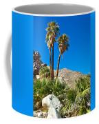 Palm Oasis On Borrego Palm Canyon Trail In Anza-borrego Desert Sp-ca Coffee Mug