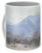 Palm Springs Landscape With Shack Coffee Mug by John Frost