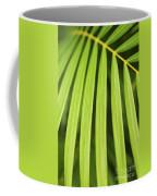 Palm Tree Leaf Coffee Mug