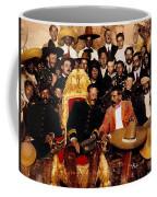 Pancho Villa In Presidential Chair And Emiliano Zapata Palacio Nacional Mexico City December 6 1914 Coffee Mug