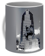 Pancho Villa Statue Downtown Tucson Arizona 1988-2008  Coffee Mug