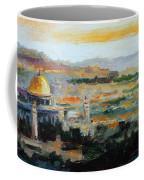 Panorama Of Jerusalem Coffee Mug