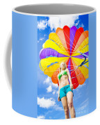 Parasailing On Summer Vacation Coffee Mug