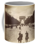 Paris Champs-�lys�es, C1900 Coffee Mug