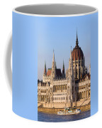 Parliament Building In Budapest Coffee Mug