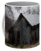 Patchwork Barn With Icicles Coffee Mug