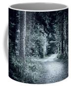 Path In Dark Forest Coffee Mug by Elena Elisseeva