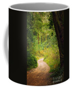 Pathway In The Woods Coffee Mug