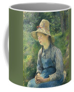 Peasant Girl With A Straw Hat Coffee Mug