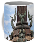 Pedestal Of Columbus Monument In Barcelona Coffee Mug