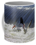 Pelican Drama Coffee Mug