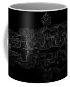 Pencil - View Of The Cottages And Lagoon Water Coffee Mug