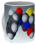 Penicillin V Molecular Model Coffee Mug