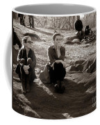 Pensive - In Central Park Coffee Mug