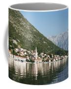 Perast In Kotor Bay Montenegro Coffee Mug