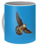 Peregrine Falcon In Flight Coffee Mug