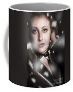 Performing Arts Woman. Romantic Stage Performance Coffee Mug
