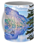 Phantom Ship Overlook In Crater Lake National Park-oregon Coffee Mug