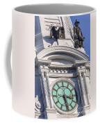 Philadelphia City Hall Clock Coffee Mug