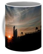 Phillies Stadium At Dawn Coffee Mug by Bill Cannon