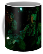 Pilots Sitting In The Cockpit Coffee Mug