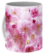 Pink Cherry Blossoms  Coffee Mug by Elena Elisseeva