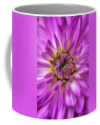 Pink Dahlia Close Up Coffee Mug