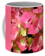 Pink Hydrangea Flowers Coffee Mug