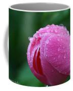 Pink Rain Drops Coffee Mug