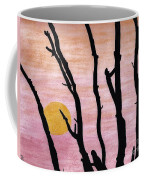 Pink - Sunrise Drawing Coffee Mug
