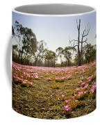 Pink Wildflowers Coffee Mug