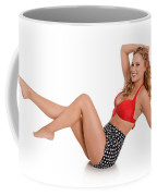 Pinup Girl Coffee Mug