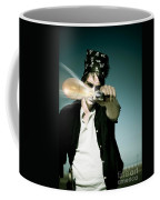 Pirate Shooing Gun Coffee Mug