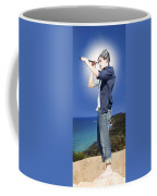 Pirate With Spyglass Coffee Mug