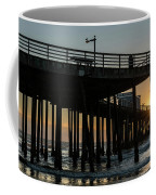 Pismo Beach Pier At Sunset, San Luis Coffee Mug