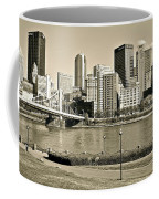 Pittsburgh In Sepia Coffee Mug