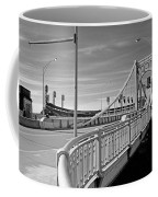 Pittsburgh - Roberto Clemente Bridge Coffee Mug by Frank Romeo