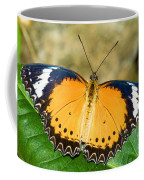Plain Tiger Butterfly Coffee Mug
