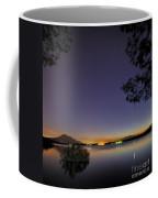 Planetary Conjunction Reflections At The Lake Mercury And Venus Coffee Mug