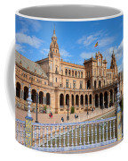Plaza De Espana In Seville Coffee Mug