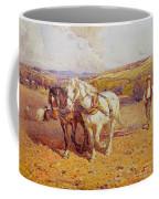Ploughing Coffee Mug by Joseph Harold Swanwick