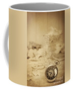 Pocket Watch Coffee Mug by Amanda Elwell