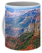 Point Imperial 8803 Feet On North Rim Of Grand Canyon National Park-arizona  Coffee Mug