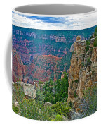 Point Imperial At 8803 Feet On North Rim Of Grand Canyon National Park-arizona   Coffee Mug