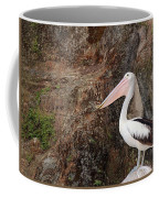 Portrait Of An Australian Pelican Coffee Mug
