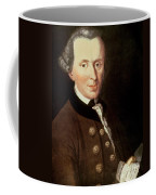 Portrait Of Emmanuel Kant Coffee Mug