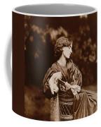 Portrait Of Jane Morris Coffee Mug by John Parsons