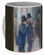 Portraits At The Stock Exchange Coffee Mug